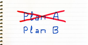 Plan A failed, we need plan B